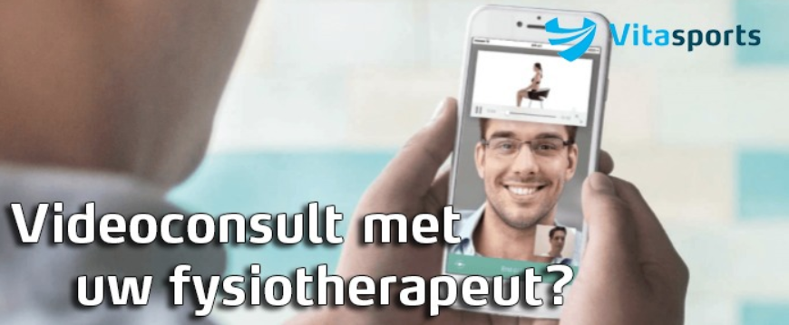 Videoconsult met uw fysiotherapeut